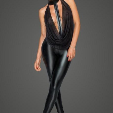 F223 Overall mit Tülloberteil und Choker von Noir Handmade MissBeHaved Collection – 5903050107062,5903050107079,5903050107086,5903050107093,5903050107109,5903050107116, (2)