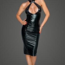 F231 Kleid mit Wahnsinns Dekolleté von Noir Handmade MissBehaved Collection