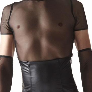 CRD008 Herren T-Shirt schwarz von Regnes Fetish Planet Crossdresser Fetish Line