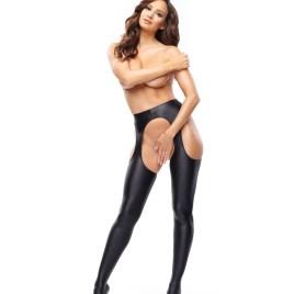 MI SP800 strip panty pantyhose black von MissO