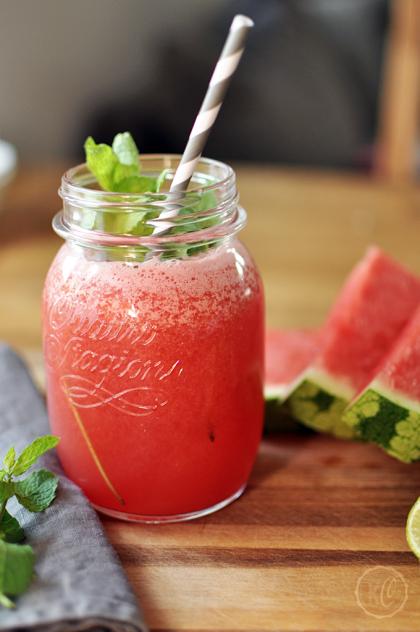 Wassermelone Limetten Shake