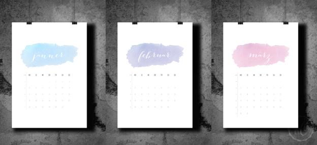 Kalender Freebie 2015