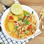 Massaman-Curry mit Fried Rice
