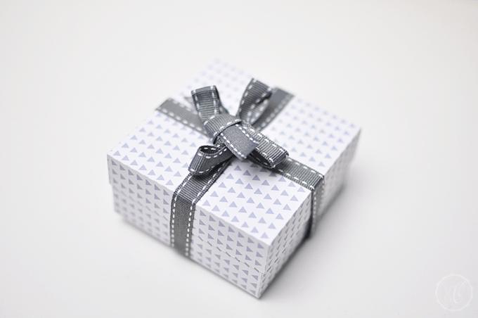 DIY: Geschenkbox aus Papier