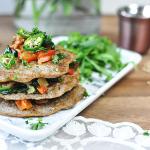 Pikante Buchweizen-Pancakes