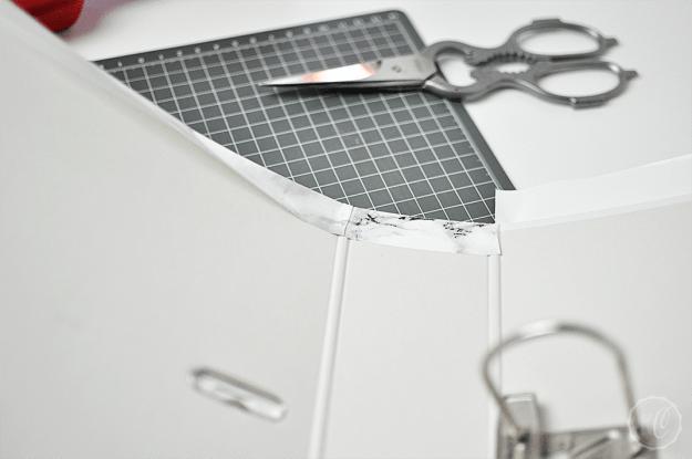 DIY: Marmor Ordner | Kathie's Cloud