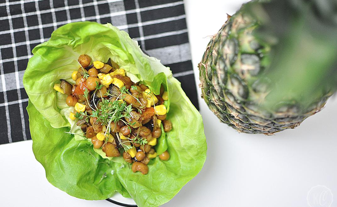 10-Minuten-Salat-Wrap