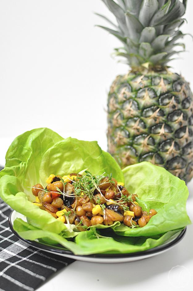 10-Minuten-Salat-Wraps | Kathie's Cloud