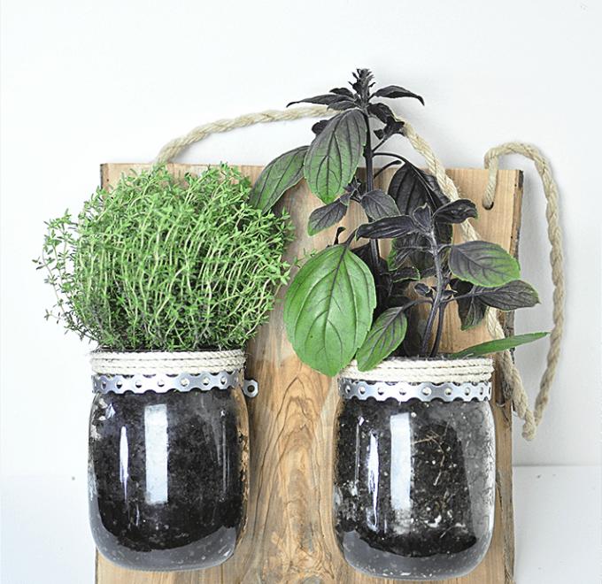 DIY: Hänge-Kräutergarten