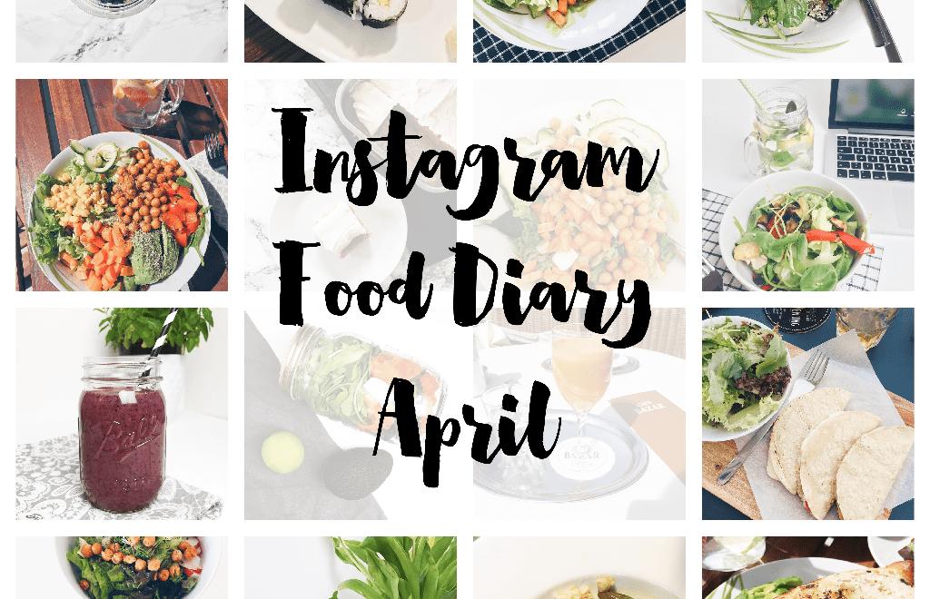 Instagram-Food-Diary 04/15 | www.kathiescloud.com