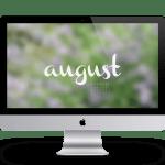 Lavendel Wallpaper August Freebie