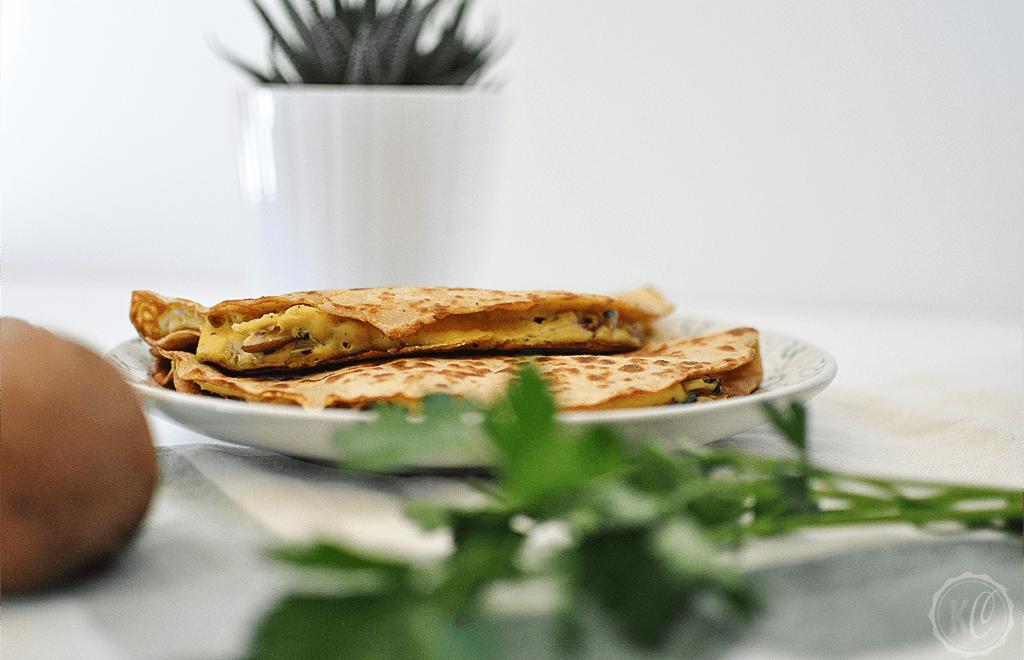 Vegane Quesadillas mit Quinoa-Tortilla-Fladen