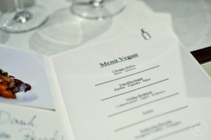 Veganes Menü Pfefferschiff