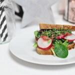 Tofu-Sandwich mit Rote-Beete-Mayonnaise