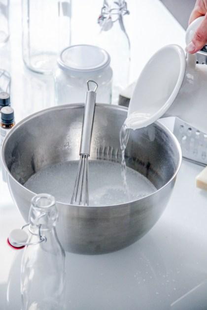 Statt Plastik DIY-Waschmittel