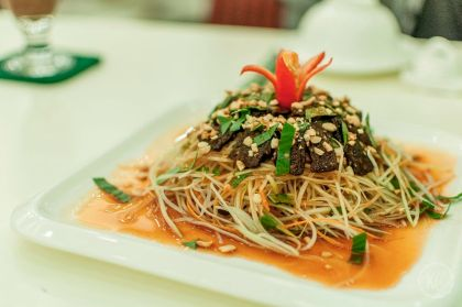 Vegan in Hanoi Loving Hut