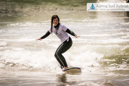 Karma Surf- und Yogaretreat Portugal