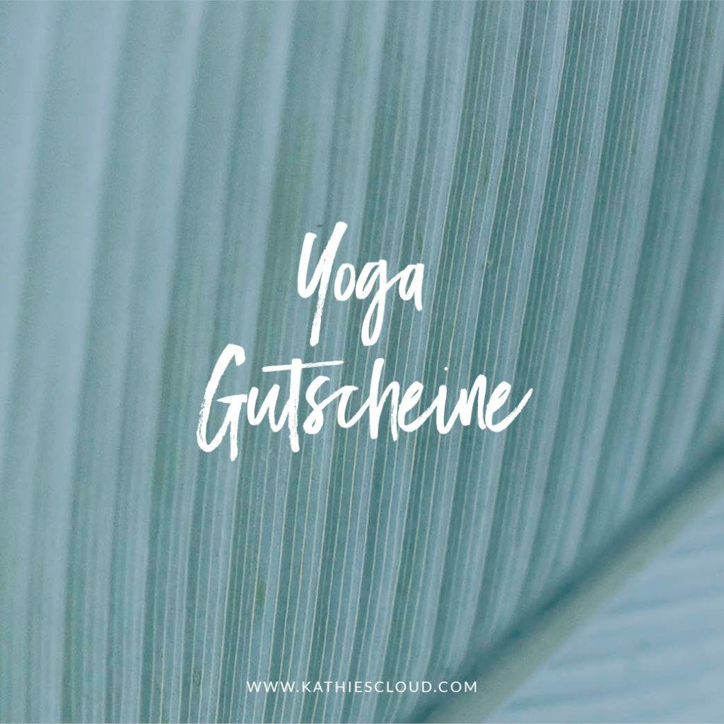 Yoga Gutscheine