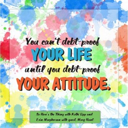 Debt-free-attitude
