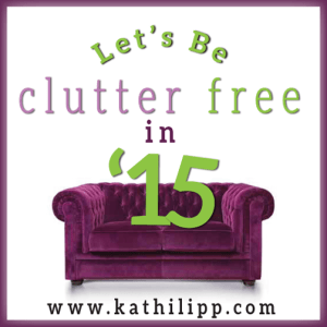 #132 Let's Be Clutter Free in 2015!