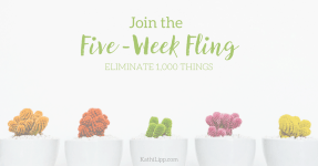 Five-Week Fling Begins Today! Join Me!