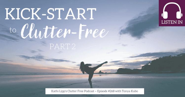 clutter free kickstart