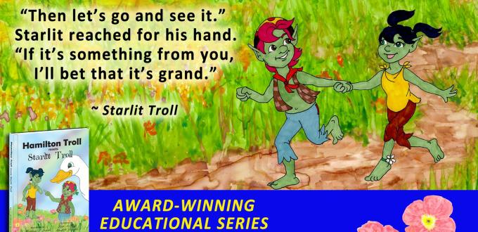 Award Winning Author Kathleen J Shields educational books hamilton troll
