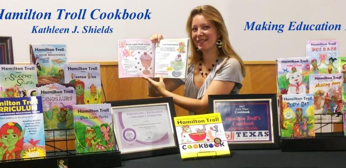 Local Texas Author Wins 2 Awards for Children's Cookbook