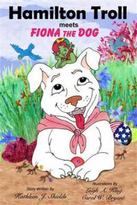Hamilton Troll meets Fiona Dog by Kathleen J. Shields