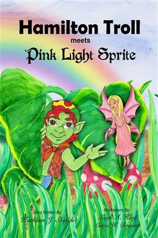 Hamilton Troll meets Pink Light Sprite by Kathleen J. Shields