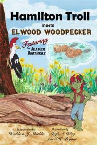 Hamilton Troll meets Elwood Woodpecker by Kathleen J. Shields