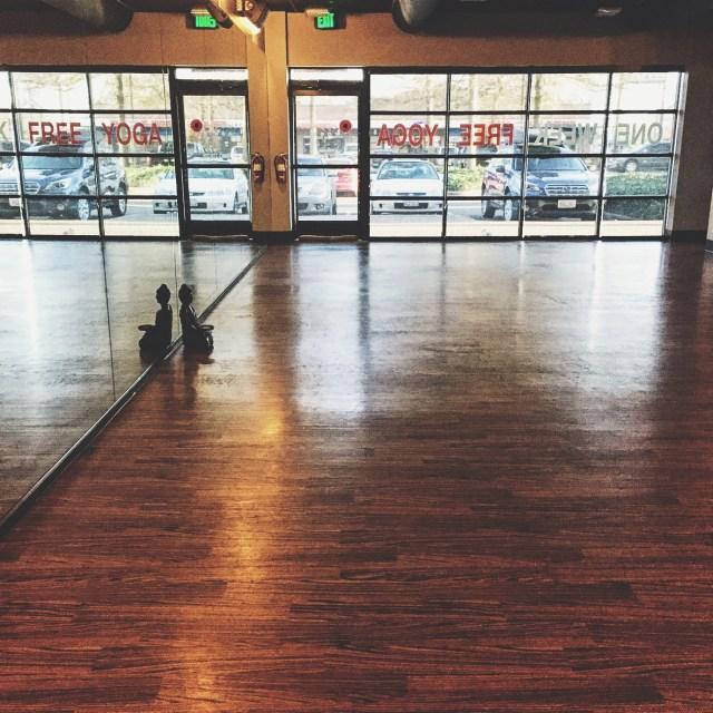 Empty Yoga Studio