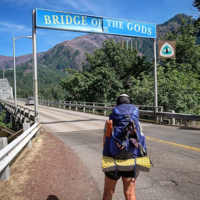 Hiking the Bridge of the Gods