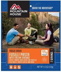 Mountain House Fusilli Pasta