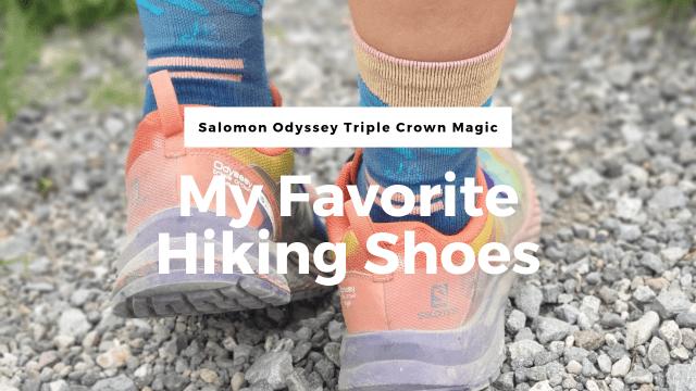 Salomon Odyssey Triple Crown Magic