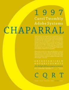 Type - Chaparral