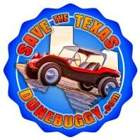 Save the Texas Dune Buggy logo 2018