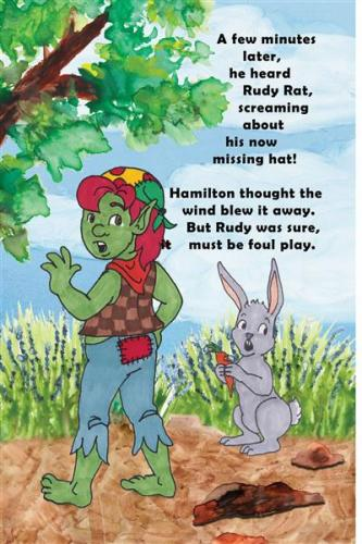 Rudy Rat's missing his hat hamilton troll books kathleen j shields author
