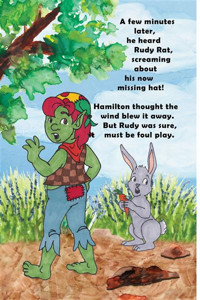 Rudy Rat's missing his hat hamilton troll books kathleen j shields author