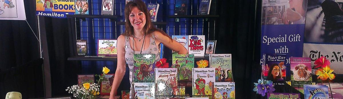 Award-Winning Author at the Texas Book Festival!