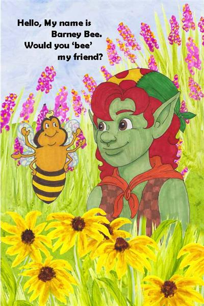 I'm Barney Bee hamilton troll books kathleen j shields author