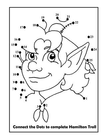 hamilton troll books kathleen j shields author