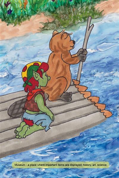 Field trip up river hamilton troll books kathleen j shields author