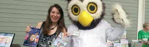 Having a Hoot at Book Festivals hamilton troll books kathleen j shields author