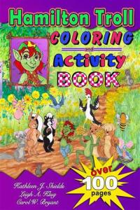 Hamilton Troll Coloring & Activity Book hamilton troll books kathleen j shields author