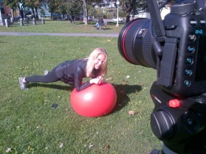 Kathleen Making Globe and Mail Video 1