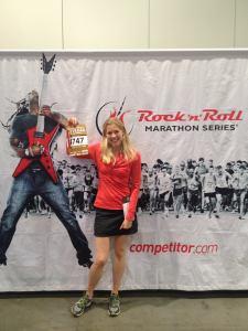 Kathleen at Las Vegas 1:2 Marathon Expo 2013