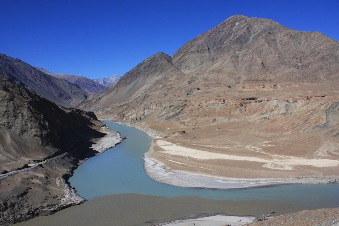 Indus and Zanskar Rivers Ladakh India 1
