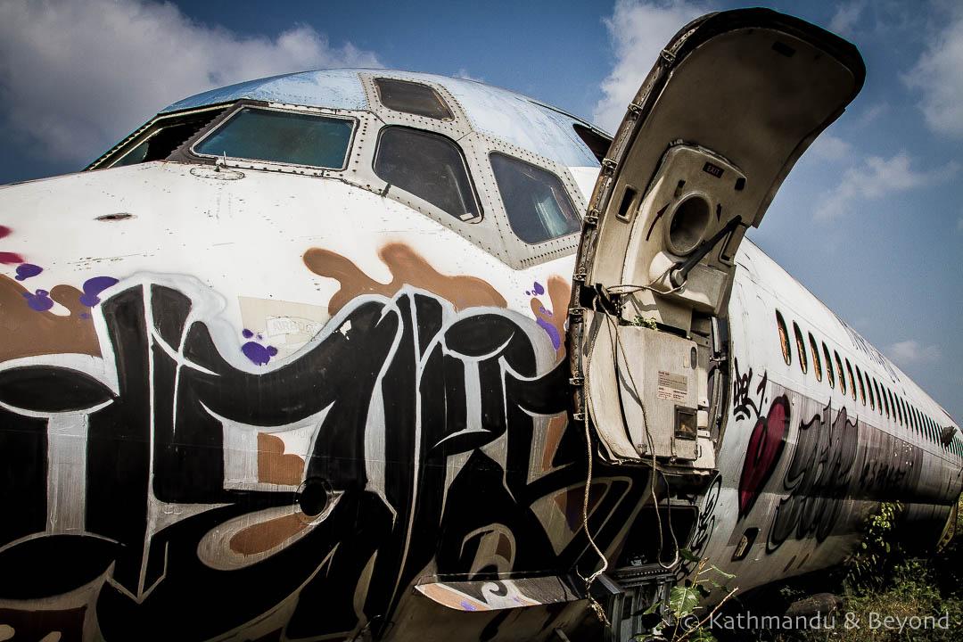 Airplane Graveyard Ramkhamhaeng Bangkok Thailand-50