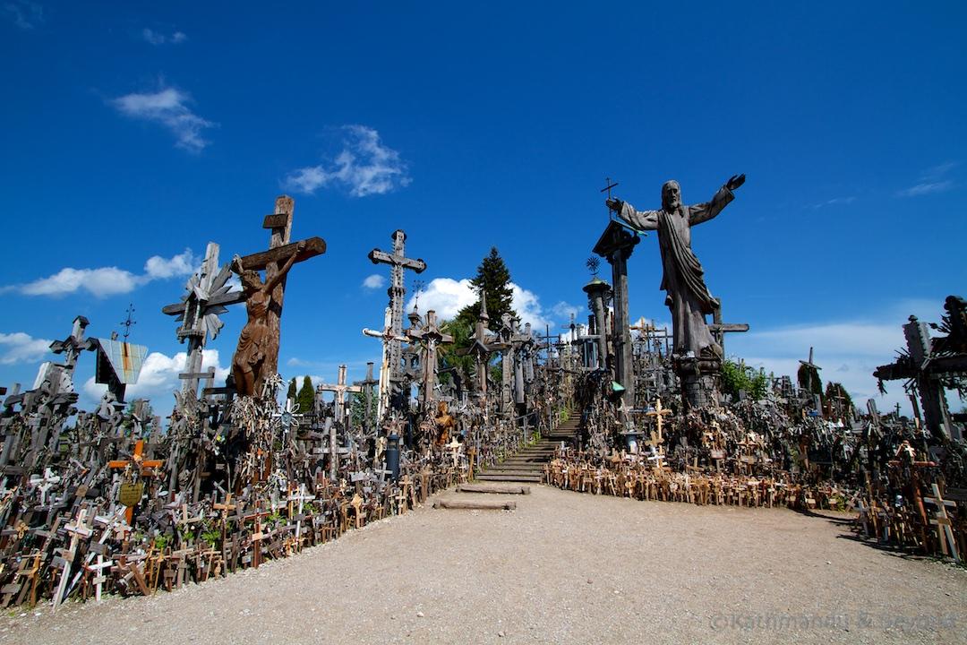 Hill of Crosses Siauliai Lithuania